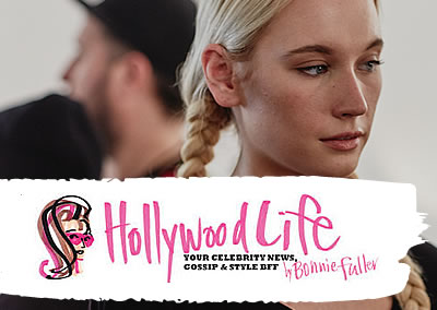 Richard Mannah's Willie Nelson-inspired braids a hit with Hollywood Life.""
